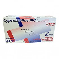 Gloves, Cypress PFT, X-Small 100/box