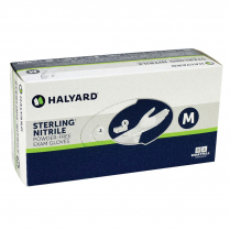 Sterling Nitrile Sterile Gloves, Medium, 50 pr/box