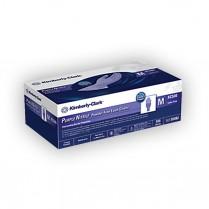 Purple Nitrile PF, LF Exam Glove, Medium
