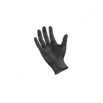 Exam Glove, Nitrile, XX-Large, Black, 90/bx.