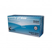 Nitrile Glove, Cypress Blue PF X-Small 100/box