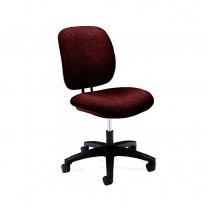 Comfort Task Chair, Burgandy