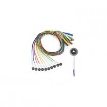 Grass EEG Electrodes, Disp. Deep Cup 1.0 meter 10/pack