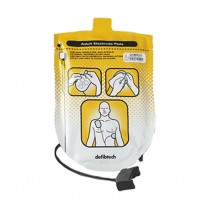 Defibtech Lifeline AED Pads, Adult
