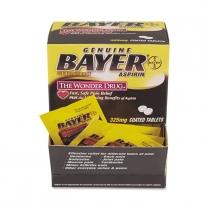 Bayer Aspirin Tablets 325 Mg 2/pk., 50pk/box
