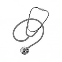 Stethoscope, Lightweight, Dual Head, Red