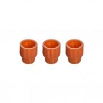 Cap Push Orange 1000/pack sold in sets of 3