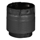 """Stove Pipe PV Adapter Black, 3"""""""