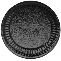 Stove Pipe Adjustable Flue Stopper Black