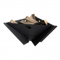MF Fire Delta Firepit Black