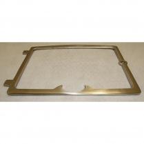 Osburn Nickel Door Overlay Cast Iron, 2300