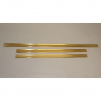 "Osburn Faceplate Trim Kit Brass 32"" x 44"""