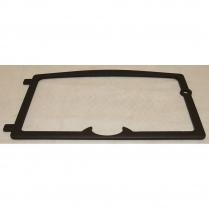 Osburn Door Overlay Black Cast Iron, 2000wi