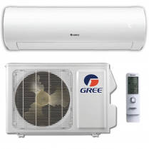 GREE Sapphire Wall Mount Ductless Mini Split Air Conditioner Heat Pump System