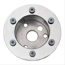 "Marine Wheel 3 Bolt Installation Hub 3/4"" Taper & Keyway"