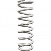 "Silver Coated High-Travel Coil Spring 2.5"" ID x 10"" x 550 lb"