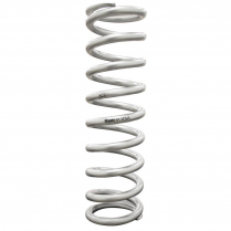 "Silver Coated High-Travel Coil Spring 2.5"" ID x 12"" x 220 lb"