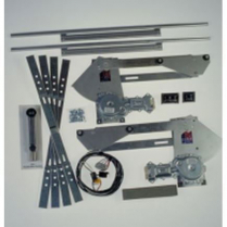 Gear Drive 2 Door Complete Power Window Kit