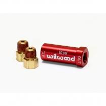 Residual Pressure Valve - 10 psi Red