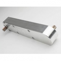 """ididit Side Step Steering Box with 10"""" Offset - Raw"""