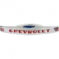 1947-53 Chevy Pickup Front Hood Emblem - Stainless