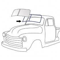 1947-53 Chevy & GMC Pickup Truck Deluxe Windshield Seal