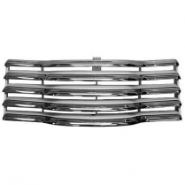 1947-53 GM Pickup Grill Assembly Chrome with Black Bars