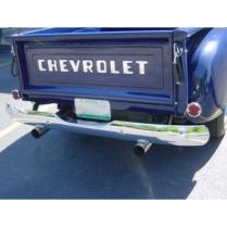 1954- 1st Series 55 Chevy/GMC Pickup Truck Rear Bumper