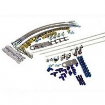 Brake Line Kit with Steel Lines (Specify Application)
