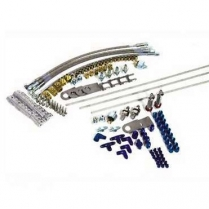 Brake Line Kit with Stainless Lines & Bulkhead Fittings