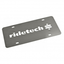 RideTech License Plate