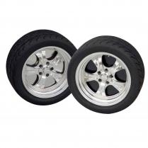 """18"""" 6-Lug Wheel Plate - Black"""