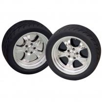 """20""""6-lug Wheel Plate - Black"""