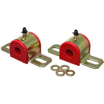 "Sway Bar Bushing Set 7/8"" or 22 mm Bar Diameter - Red"