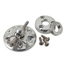 Universal Round Hood Pin Kit - Black