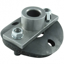 "Half Rag Joint, Steering Box Side - 13/16""-36 Spline"