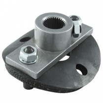 Half Rag Joint Coupler with Disc - 17mm DD