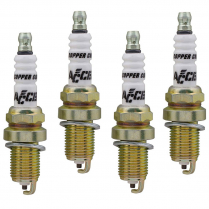 Accel HP Copper Shorty 14mm Spark Plugs - 4 Pk