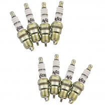 Accel HP Copper Shorty 14mm Spark Plugs - 8Pk