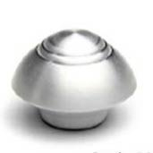 Deco Style Air Cleaner Nut with 1/4-20 Threads - Satin