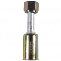A/C Fitting #6 Straight Beadlock - Female O-Ring