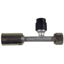 A/C Fitting #6 Straight Beadlock- Female O-Ring Charge Port