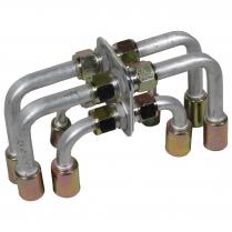 Bulkhead Fitting Pack Beadlock - 90 Degree w/Ex Drop Heater