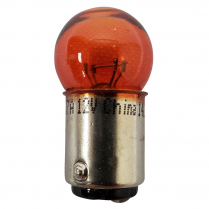 Bright Bulb Dual Filament Small, Staggered - Amber