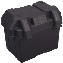 "Battery Box, Marine Plastic - 7-1/2"" x 11"""
