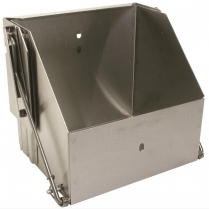 Stainless Steel Group 24 Drop-Out Battery Box