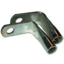 "90 Degree, 1/0 Gauge, 3/8"" Stud Hole Cable Lugs"