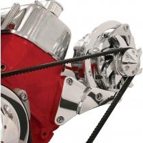 Side Mount Alternator Bracket for BB Chevy, SWP - Polished