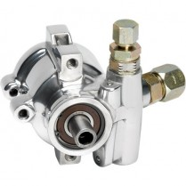 Type II Power Steering Pump , 3.5 gpm - Polished Aluminum