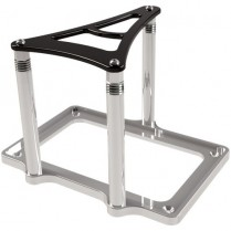 XS Power 1000/1600 Battery Mount - Black/Clear Anodized